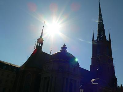リッダーホルム教会(Riddarholms kyran)fromスウェーデン ガムラスタン