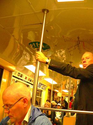 ストックホルムの地下鉄fromスウェーデン