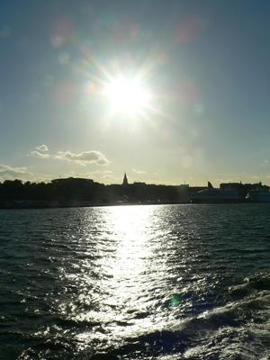 船上からのストックホルムの景色fromスウェーデン