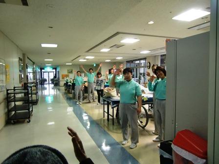 田原本園のスタッフとお別れ 9
