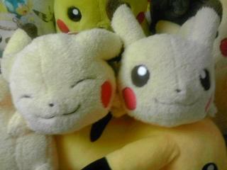 i love pikachu 寝そべり