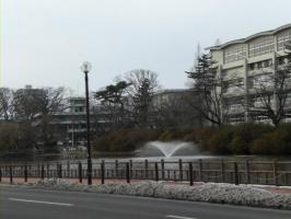 千秋公園お堀
