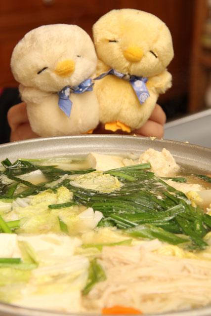 ぴよきちと鍋