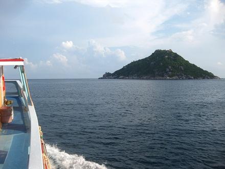 タオ島 ダイビング 水面 波なし