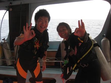 タオ島 ダイビング オープンウォーターコース