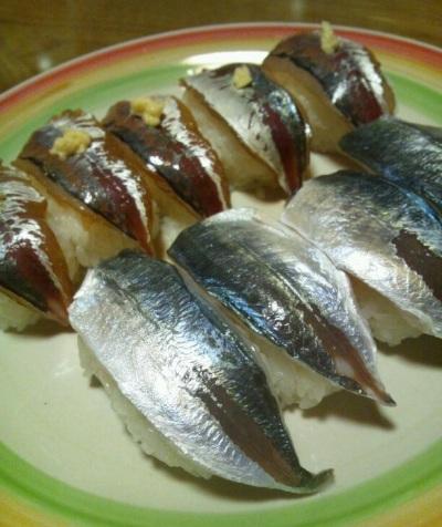 2012 1月22日 アジお寿司