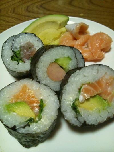 2012 1月24日 巻き寿司