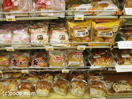 コンビニのパン