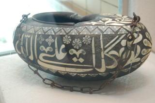 象嵌托鉢用容器 シリア 17~18世紀