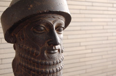 男子像頭部 メソポタミア前18世紀
