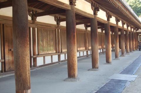 法隆寺 回廊(国宝)