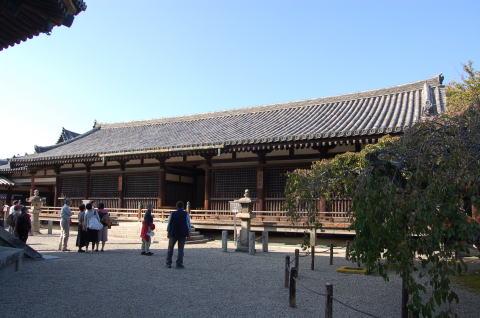 法隆寺 舎利殿 鎌倉時代 重文