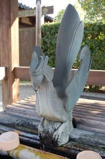 法隆寺 手水
