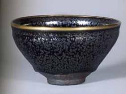 国宝 油滴天目 建窯 南宋時代・12-13世紀 径12.2センチ