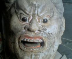 山田の怒った顔
