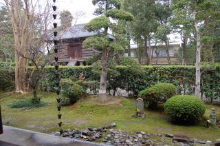 写教場の庭