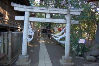 代々木八幡宮 榛名社:日本武尊