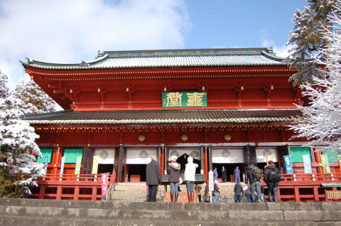 日光山 輪王寺三仏堂