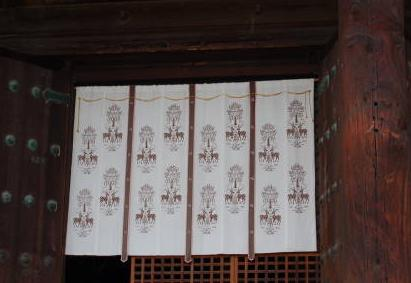 興福寺 テンプルカーテン