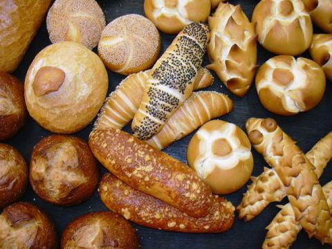 ハード系のパンたち