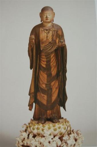 東大寺公慶堂像 地蔵菩薩立蔵 快慶作
