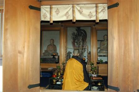 宇賀神本殿(うがじんほんでん)不動明王 僧形文殊坐像とその体内仏