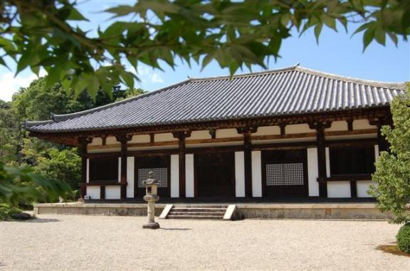 秋篠寺 本堂
