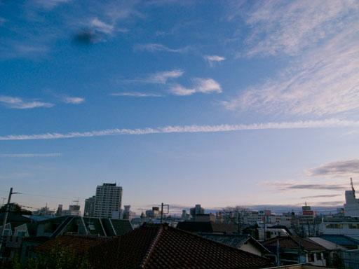 地震雲2012年1月8日東京