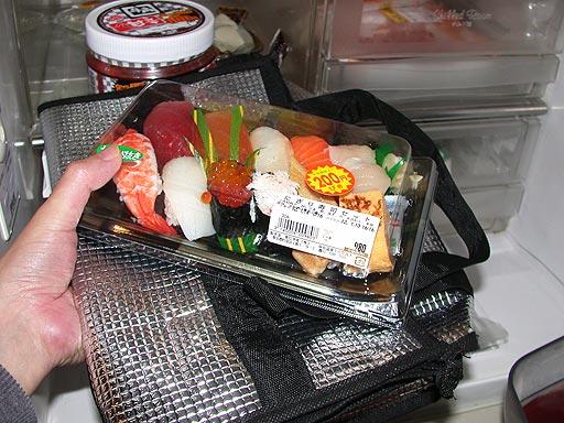 パック寿司保存プロジェクト