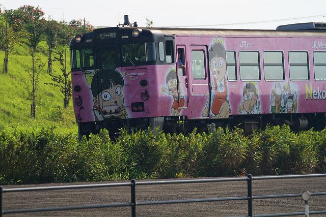 鬼太郎列車 ネコ娘 境港