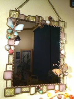 ステンド鏡1