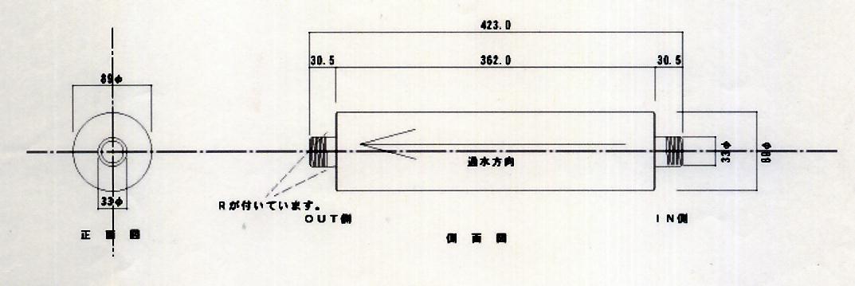 25A寸法図面