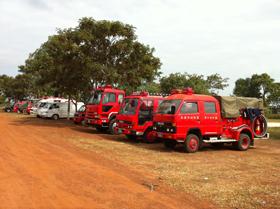 救急車や消防車