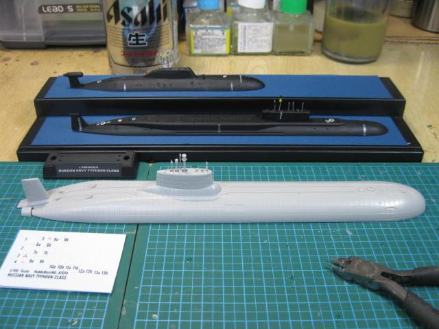 プロジェクト941UM「アクラ」(タイフーン級)重原子力戦略用途水中巡洋艦TK-208「ドミトリー・ドンスコイ」
