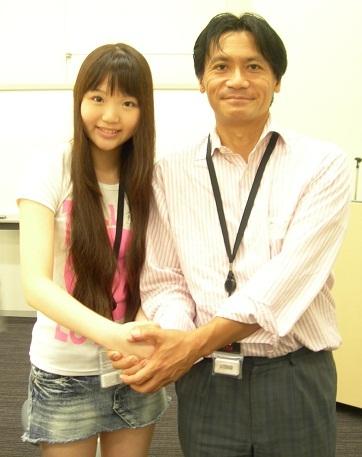 藤波心さんと川根 衆議院内集会『安全なお米を給食に』 20110826