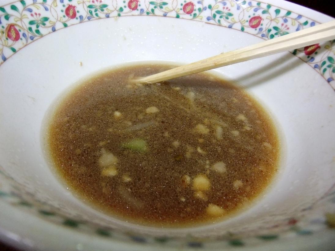 ラーメン二郎 めじろ台法政大学前店:スープ 11.12.17