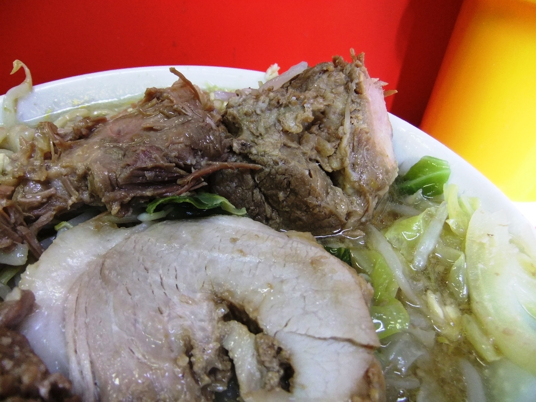 ラーメン二郎 三田本店:豚2 12.01.14