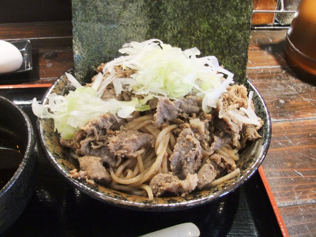 頂上和風そば 浜の麺バカ:麺 12.02.16