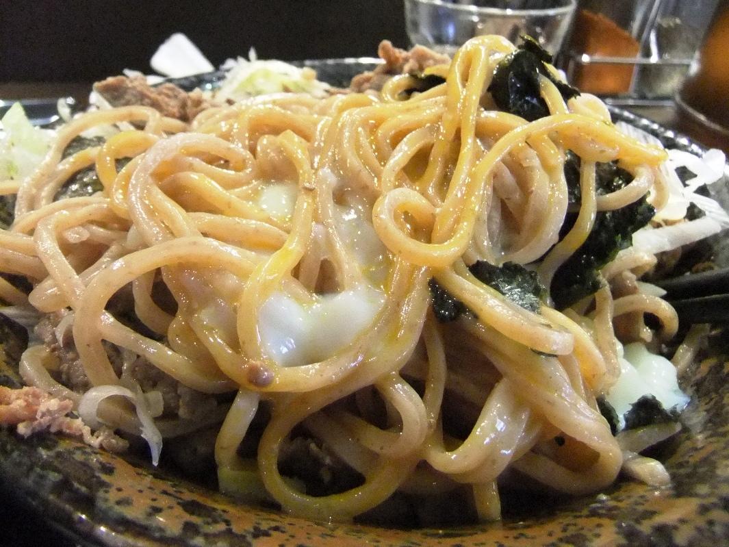 頂上和風そば 浜の麺バカ:麺3 12.02.16