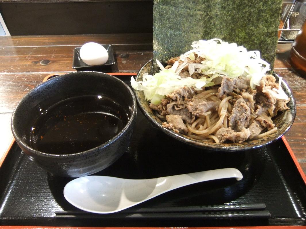 頂上和風そば 浜の麺バカ:肉つけそば 12.02.16