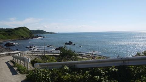 秋田 象潟付近日本海
