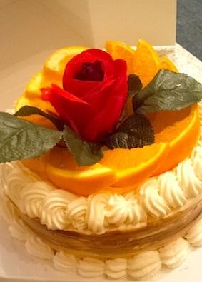 26歳の誕生日ケーキ
