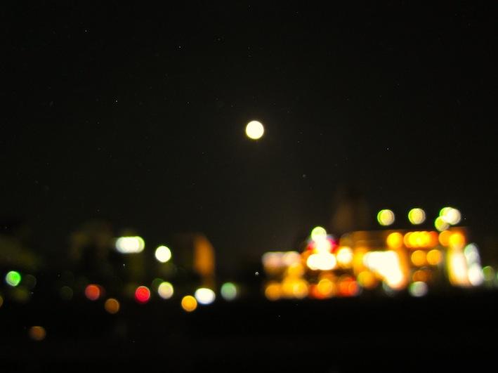 鴨川夜景111010