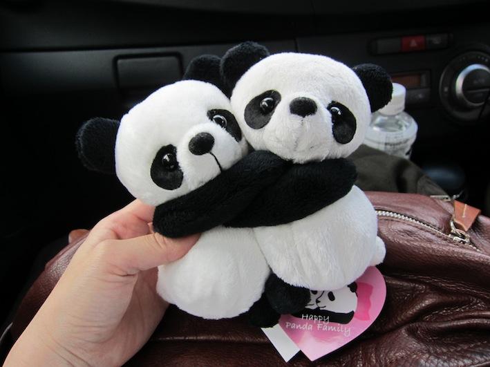 抱きパンダ