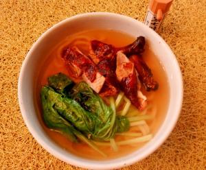 ダッグヌードル soup