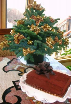 Christmasのアレンジとcake