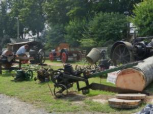 昔の農機具
