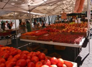 沢山のトマト