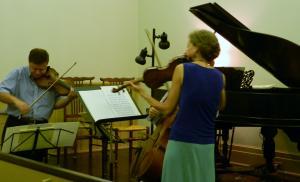 バイオリンのデュオ