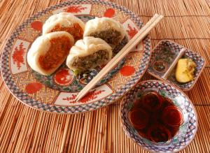 キムチとベジタブルの中華饅頭